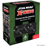Star Wars X-Wing Second Edition Fugitives and Collaborators Squadron Pack