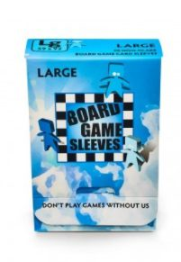 Arcane Tinmen Board Game Sleeves Non-Glare, Large 59x92mm (50ct)