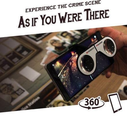 Chronicles of Crime Glasses: The Virtual Reality Module